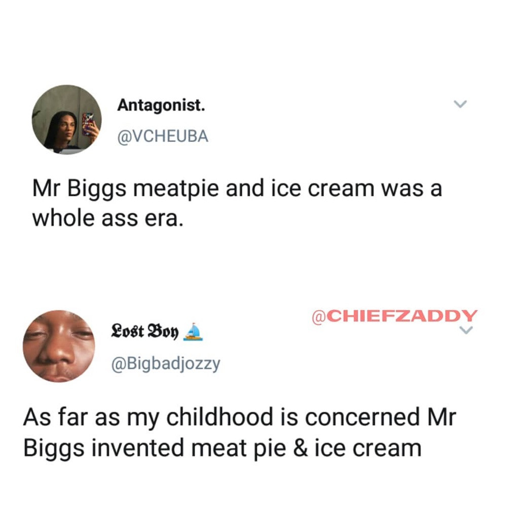 Mr Biggs all the way