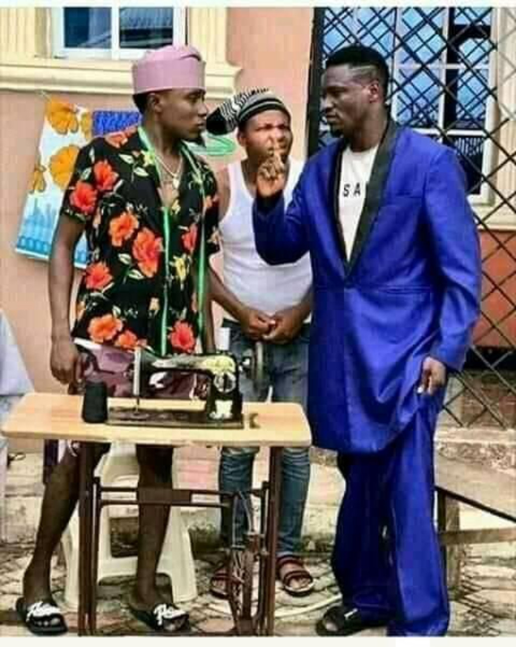 Fight will soon start o See suite 🤣🤣🤣