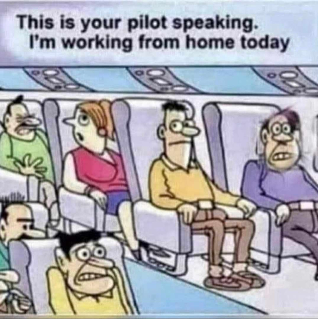 Reply as one of them in the plane 😄