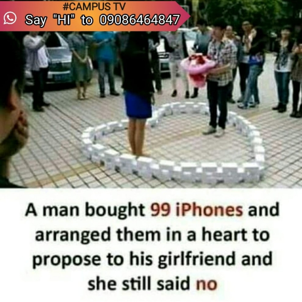 Guys what exactly will be your reaction.... Cause I won't even be mad to propose like this