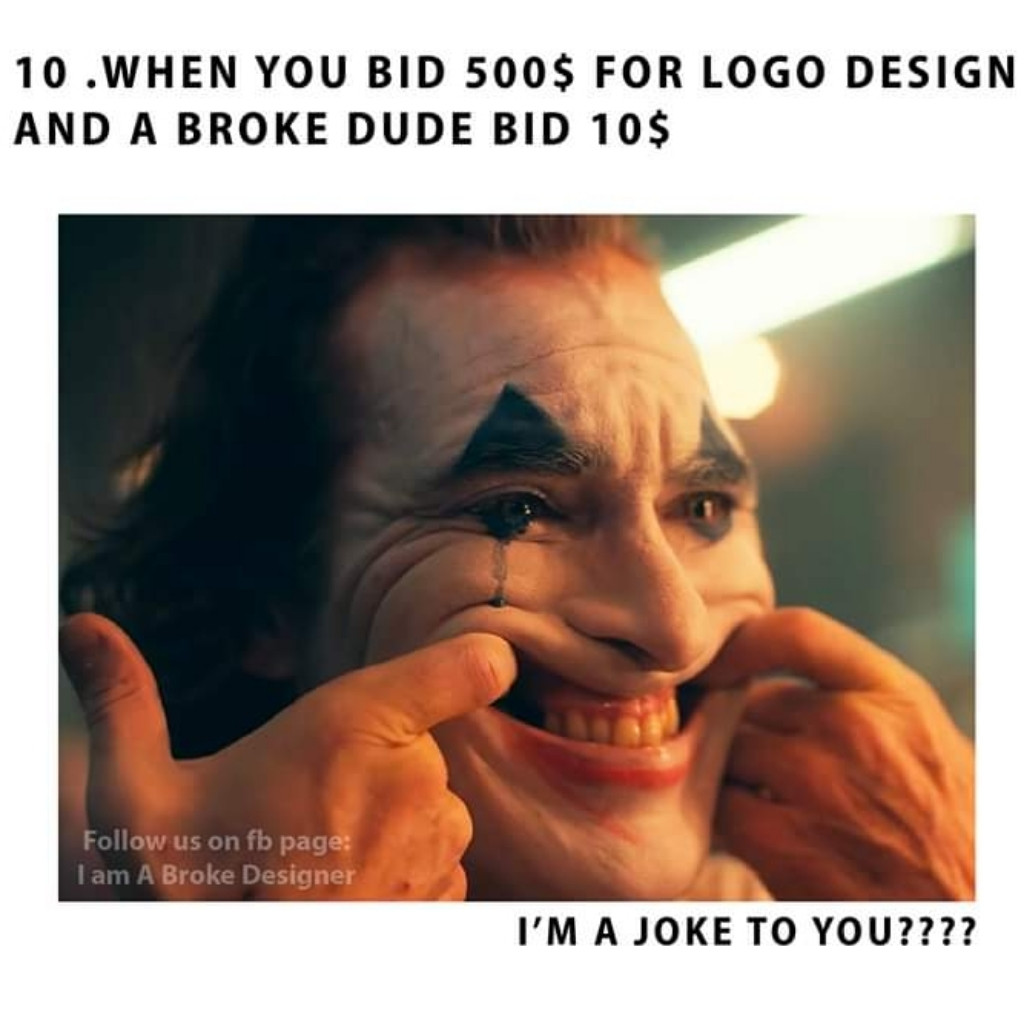 One of the things,a graphic designer hates Only Graphic designers can relate.