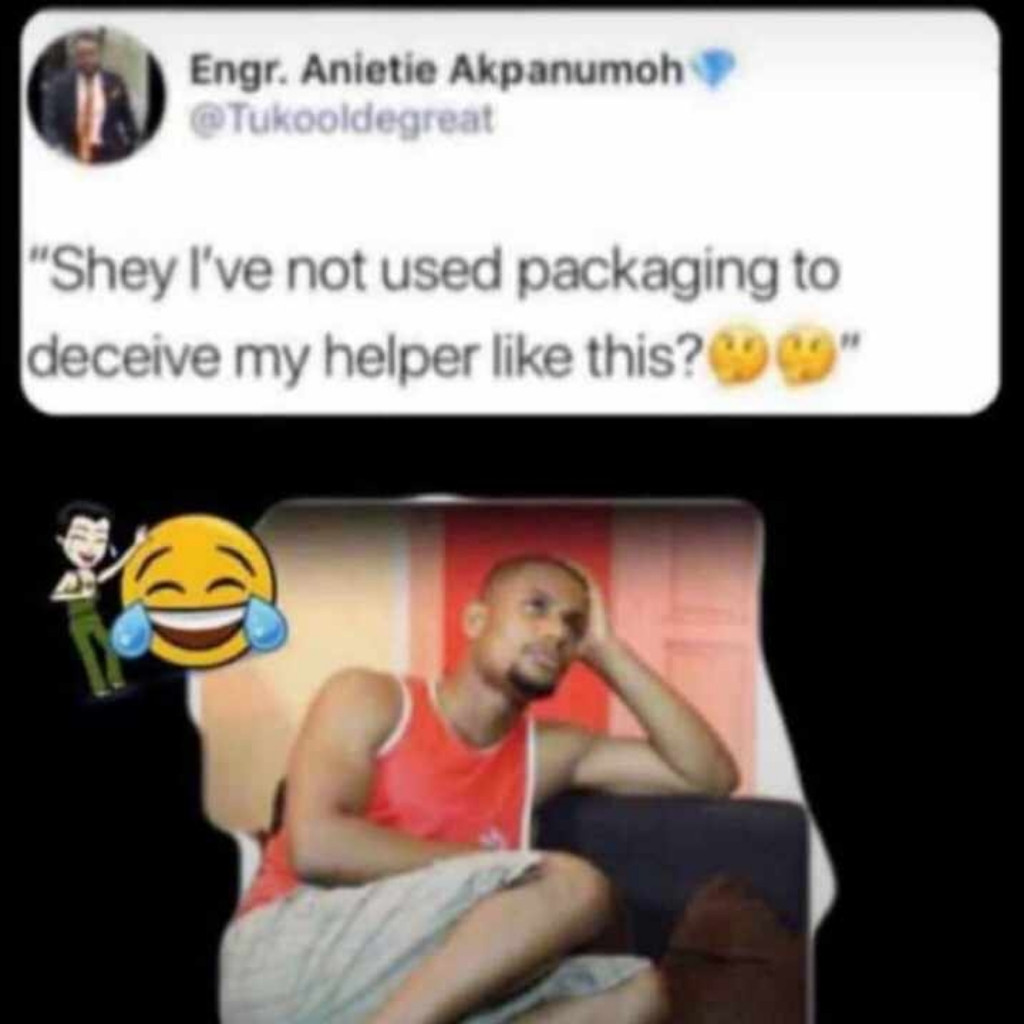 For those of you that knows me abeg na packaging I dey do oh. You can still help me 🤣🤣