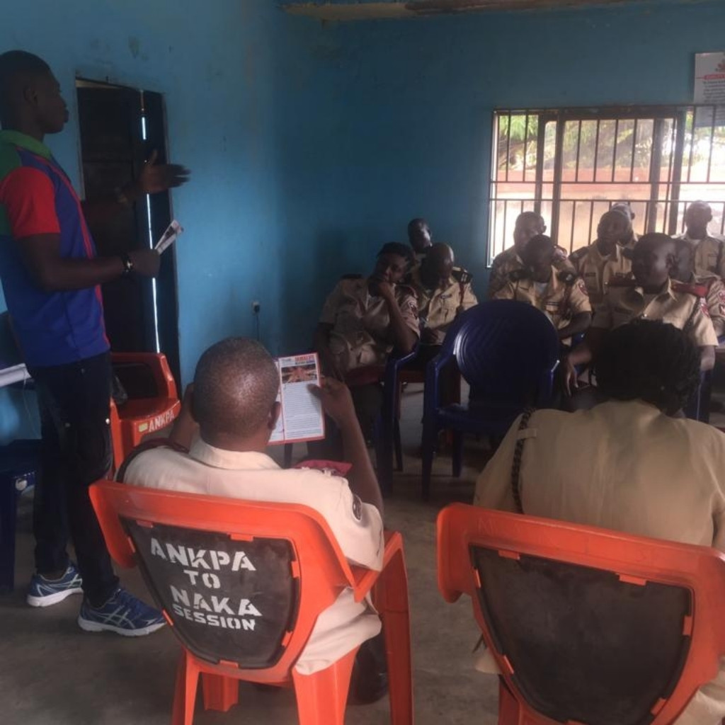 FRSC receiving the information about jamalife