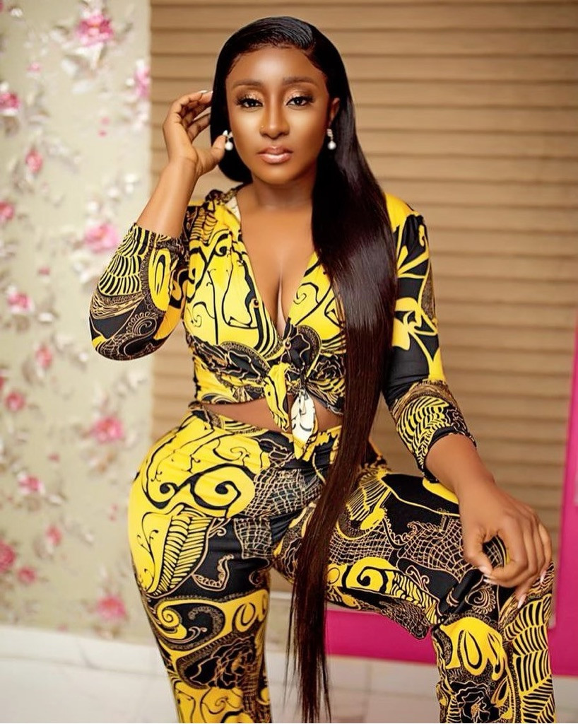 Ini Edo Shares Valentine's Day Picture