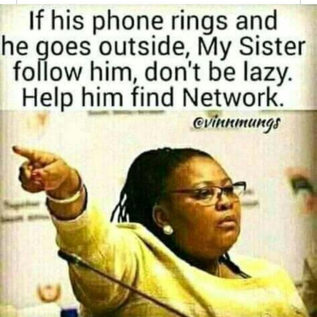 Don't be lazy Help him find network 🙄🙄