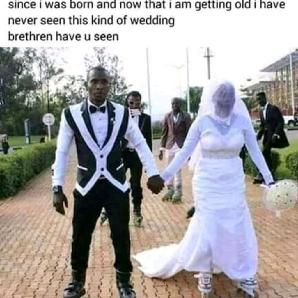 Hmmmm 🙄 when you finally get somebody to marry you