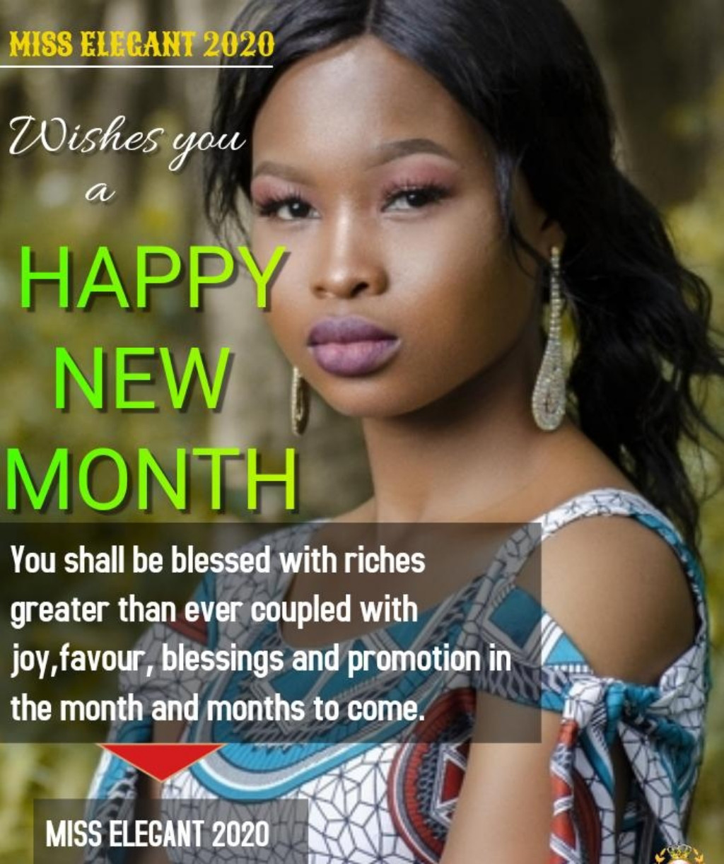 Yaply family welcome you to the second half of the year 2020. May the Lord bless us and settle our country  Amen. Miss #elegant 2020.